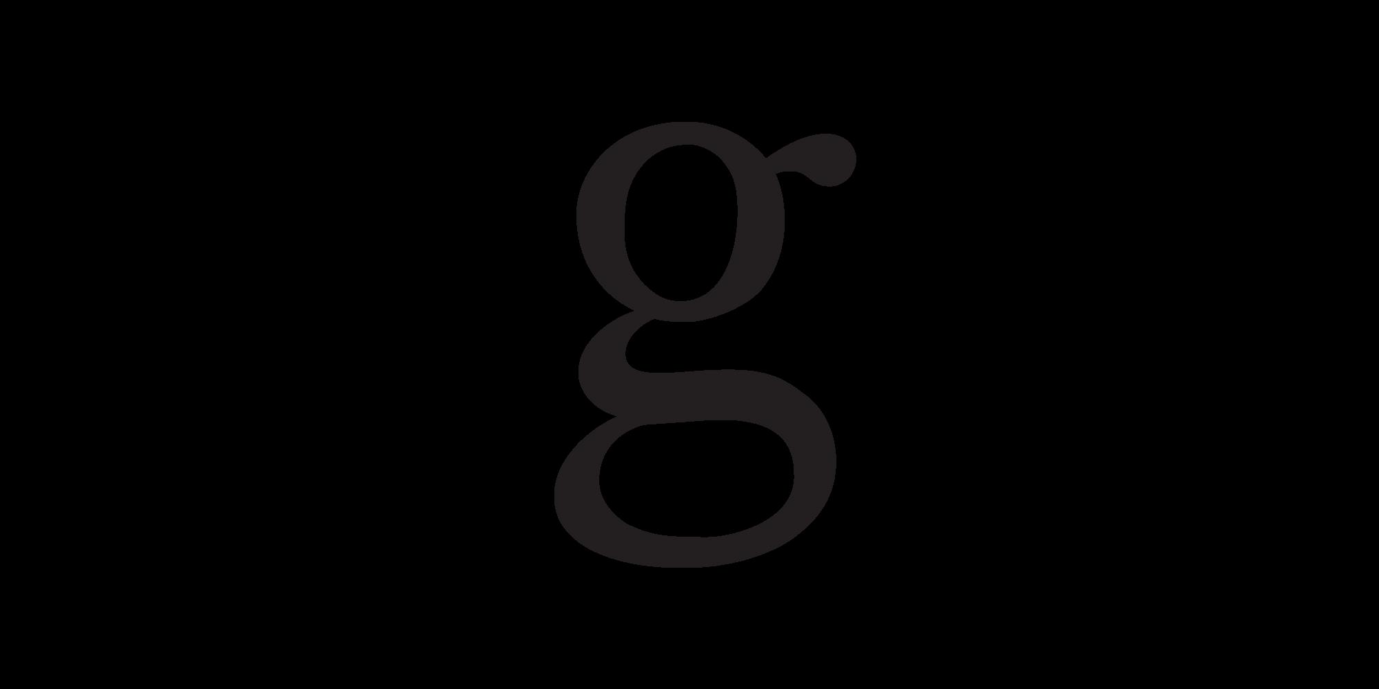 Black G Logo