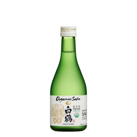 Green Hakutsuru Organic 300ml Bottle Shot