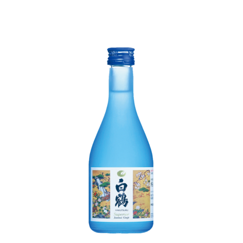 Blue Hakutsuru Superior 300ml Bottle Shot