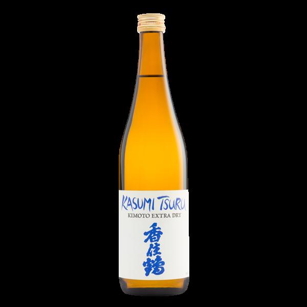 Kasumi Tsuru Kimoto Extra Dry 720ml Bottle Shot