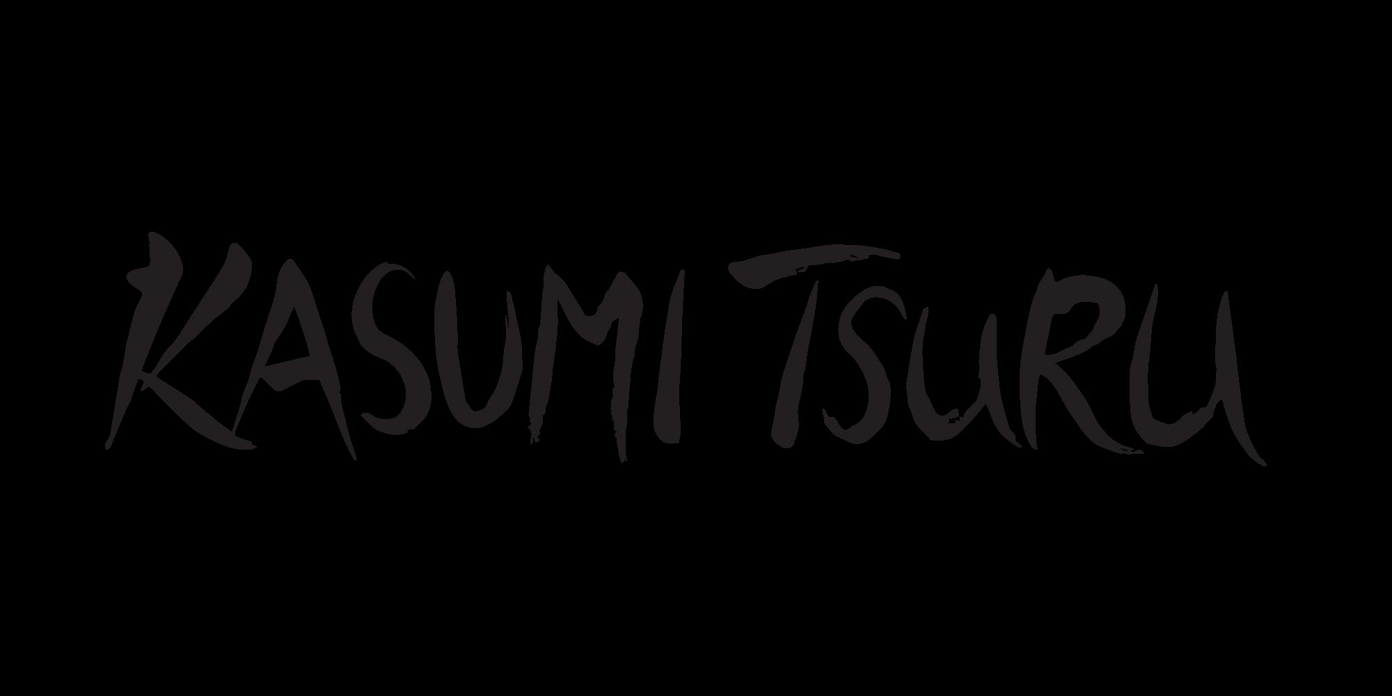 Black Kasumi Tsuru Logo
