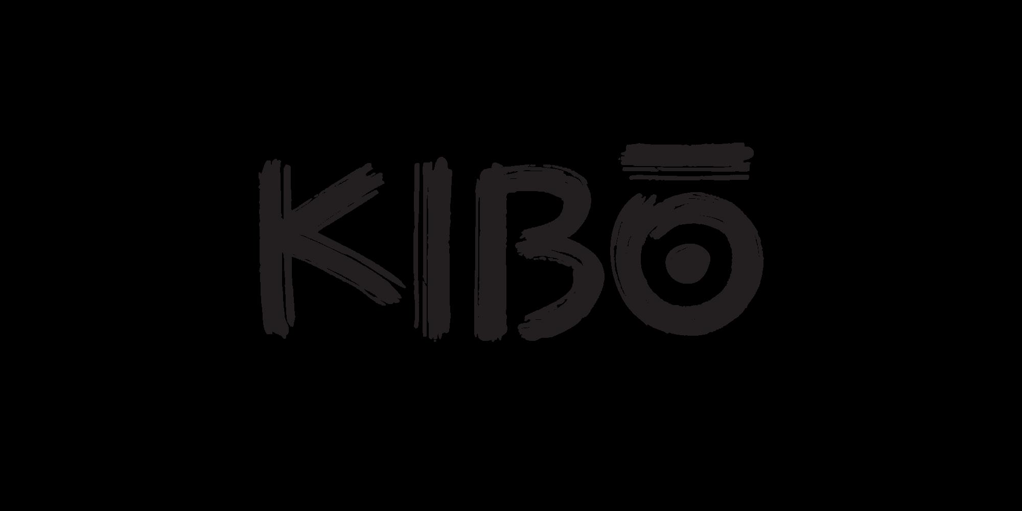 Black Kibo Logo