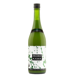 Momokawa Organic Nigori 750ml Bottle Shot