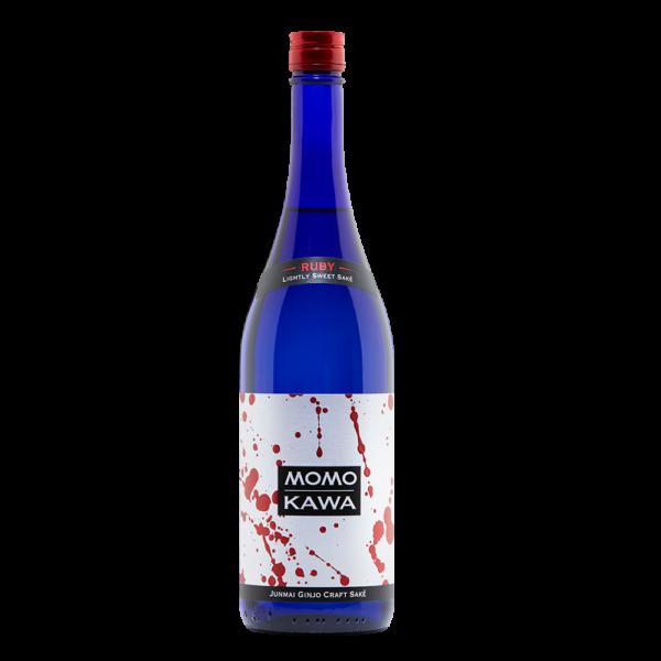Momokawa Ruby 750ml Bottle Shot