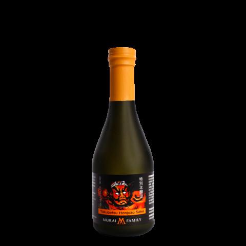 Black Murai Family Tokubetsu Honjozo 300ml Bottle Shot