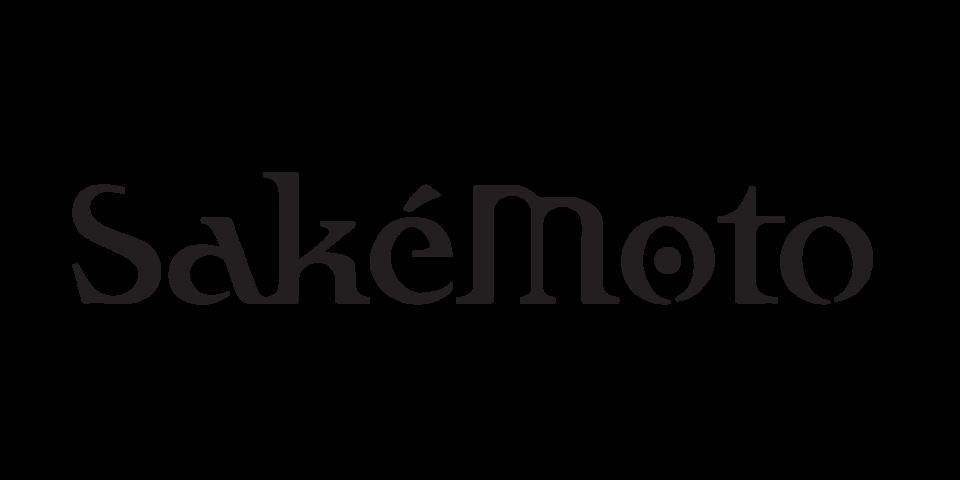 Black SakéMoto Logo