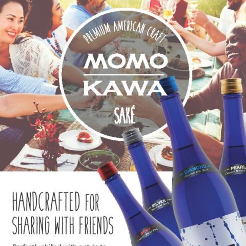 Momokawa Flyer Handcrafter for sharing with friends