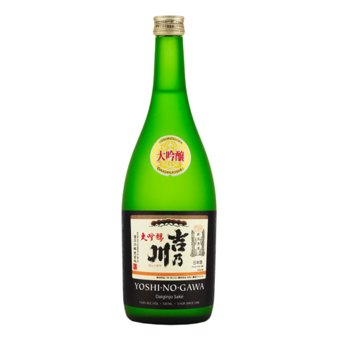 Yoshinogawa Daiginjo 720ml Bottle Shot