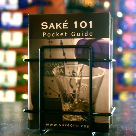 Photo of Saké 101 pocket guides
