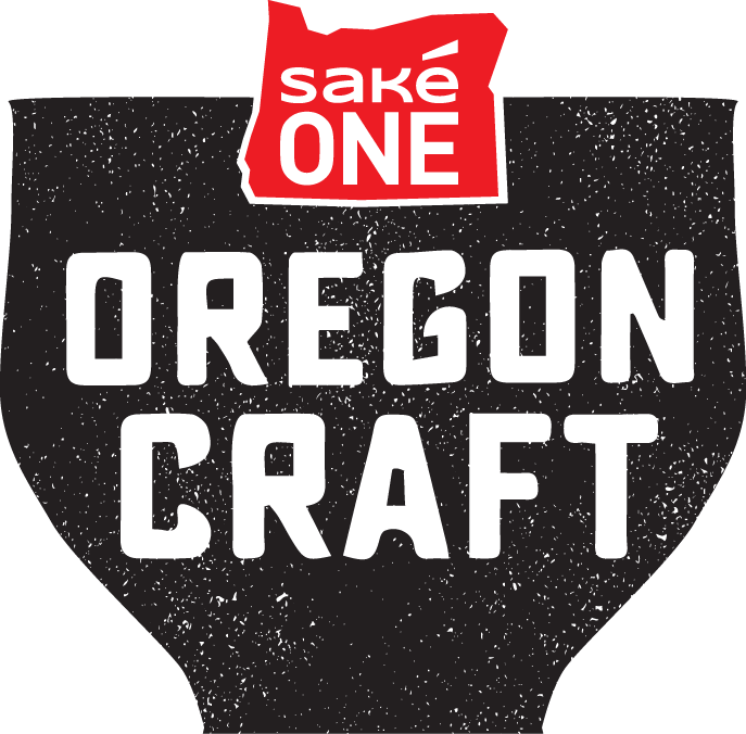 Red on Black Oregon Craft Logo