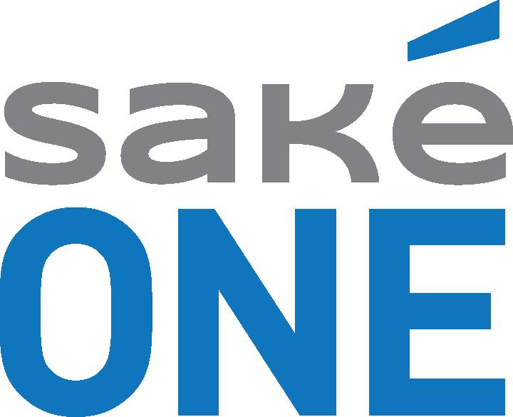 SakéOne Logo Blue & Gray