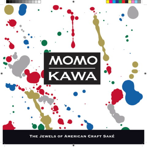 Momokawa Brochure Cover page with logo