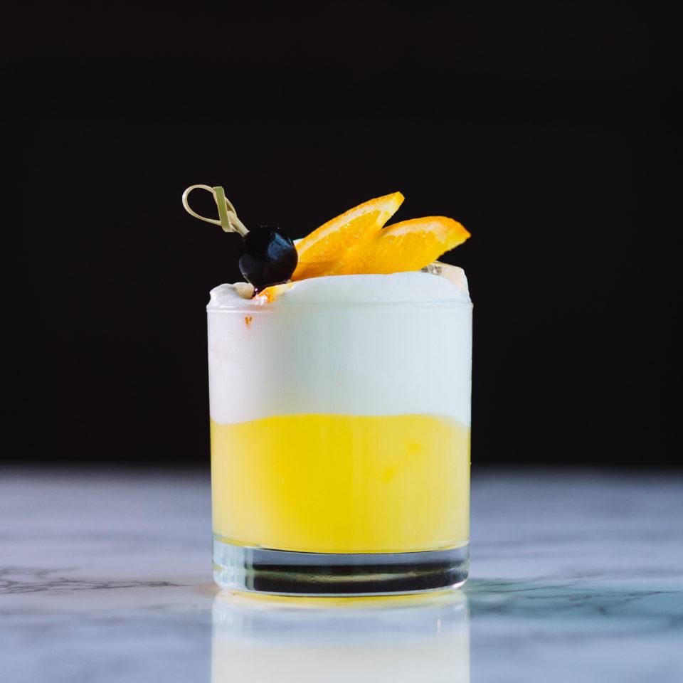 Tangerine Saké Sour photo