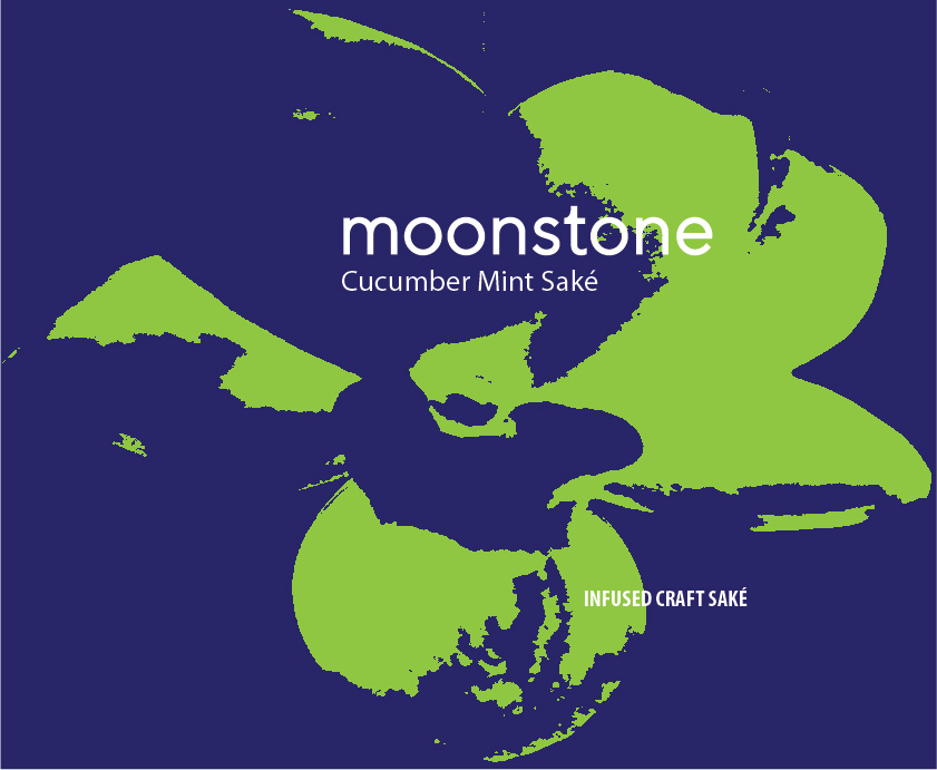 Moonstone Cucumber Mint 750ml Label