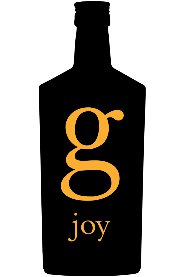 G Joy Black and Yellow Logo