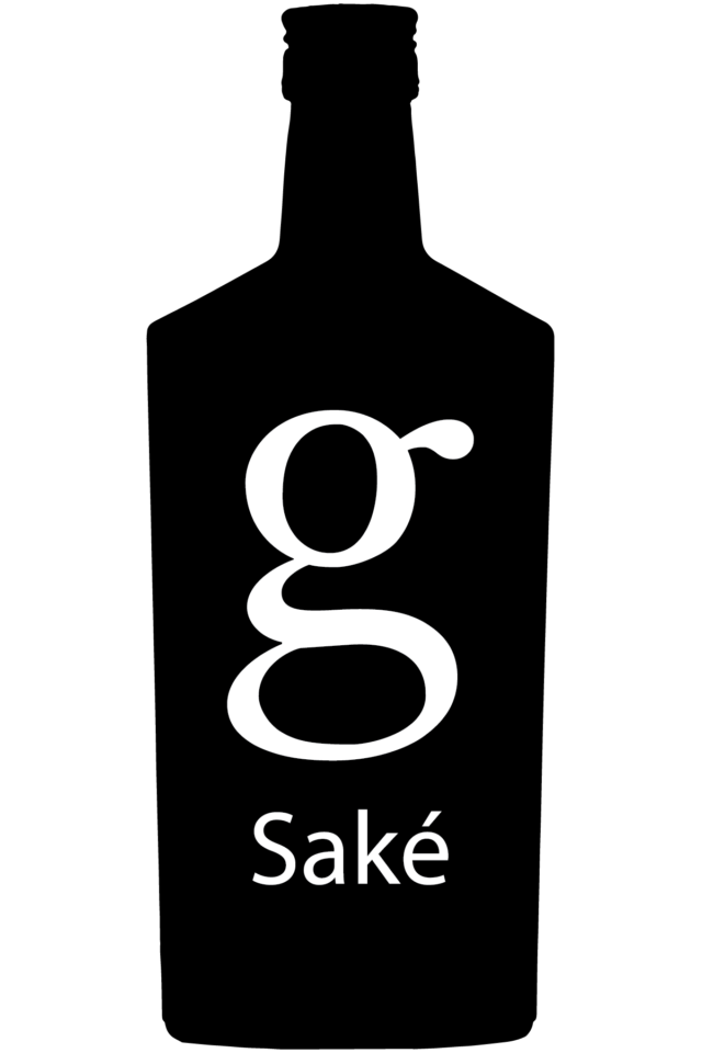G Fifty Saké black and white logo