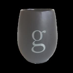 Grey Ceramic g cup