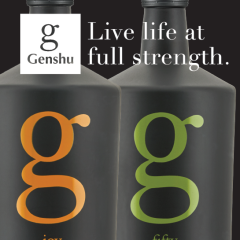 G Joy and G Fifty Live life at full strength graphic