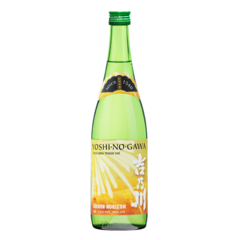 Yoshinogawa Golden Horizon 720ml Bottle Shot Front