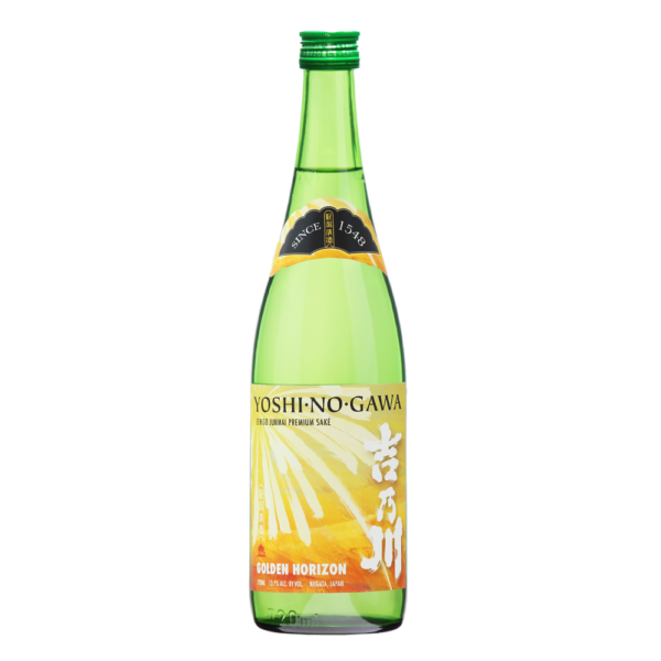 Yoshinogawa Golden Horizon 720ml Bottle Shot Front