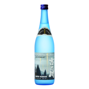 Yoshinogawa Winter Warrior 720ml Bottle Shot