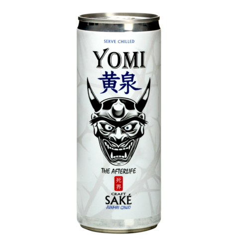 Yomi Junmai Ginjo 250ml can