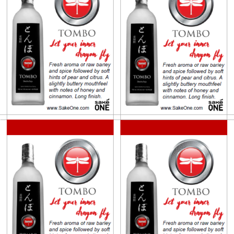 Four Tombo brand printouts