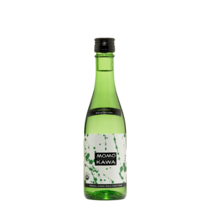 Bottle graphic for Momokawa Organic Junmai 300ml saké