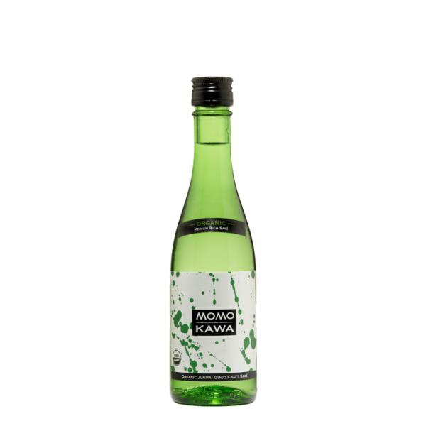 Bottle graphic for Momokawa Organic Junmai 300ml saké