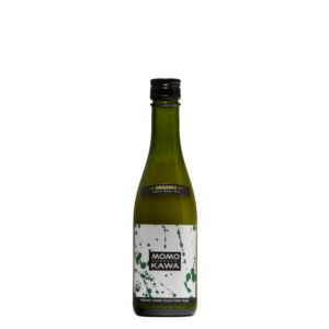 Bottle graphic for Momokawa Organic Nigori 300ml saké