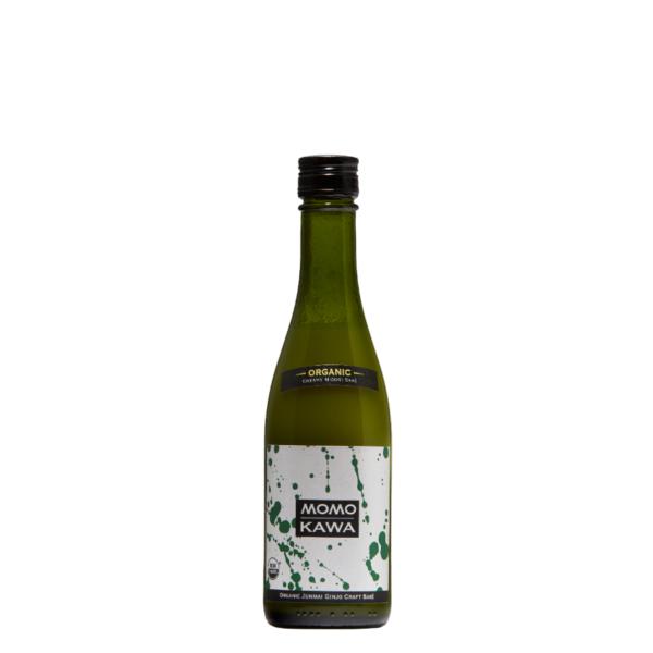 Bottle graphic for Momokawa Organic Nigori 300ml saké